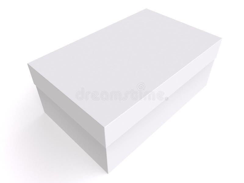 Cadre blanc 3d illustration libre de droits