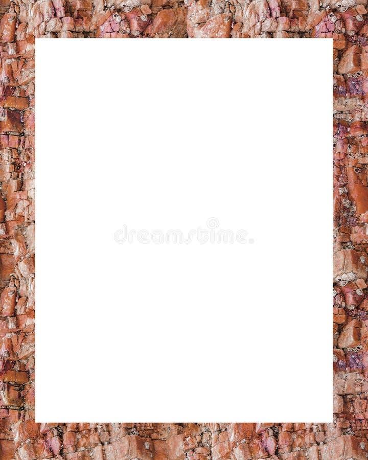 Download Cadre Blanc Avec Les Frontières Texturisées Illustration Stock - Illustration du trame, rocheux: 77153057