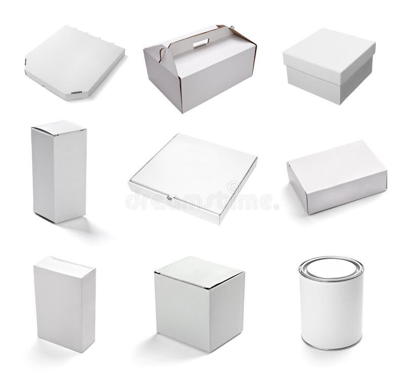 Cadre blanc blanc illustration stock