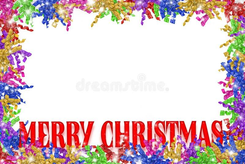 Cadre bouclé de bande de Noël illustration libre de droits