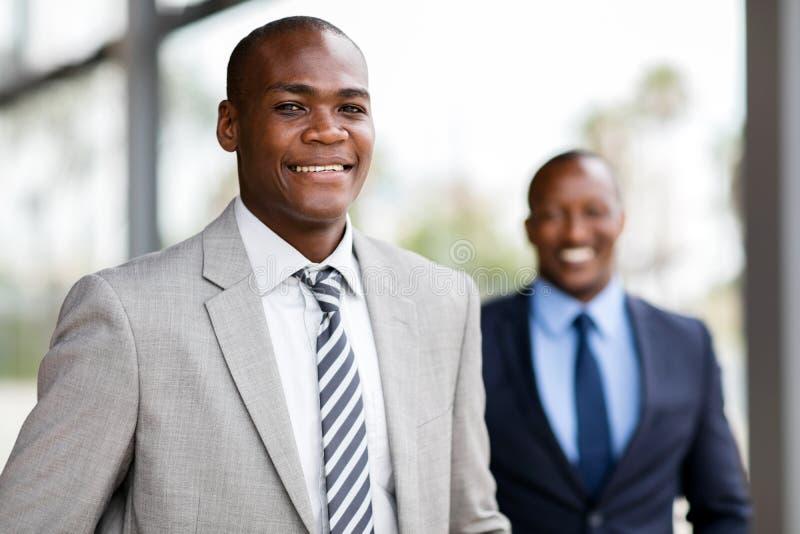 Cadre commercial d'afro-américain photo libre de droits