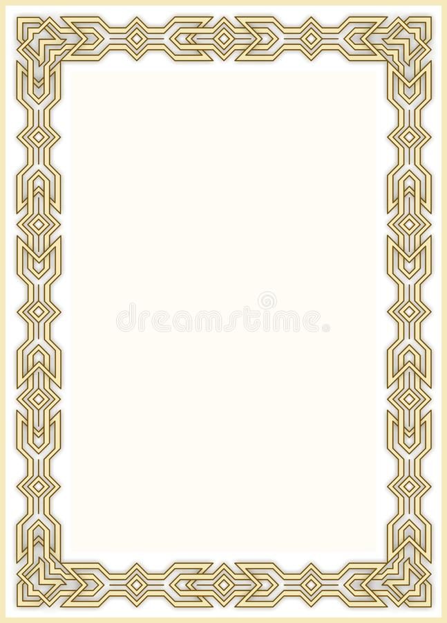 Cadre décoratif 10 images libres de droits