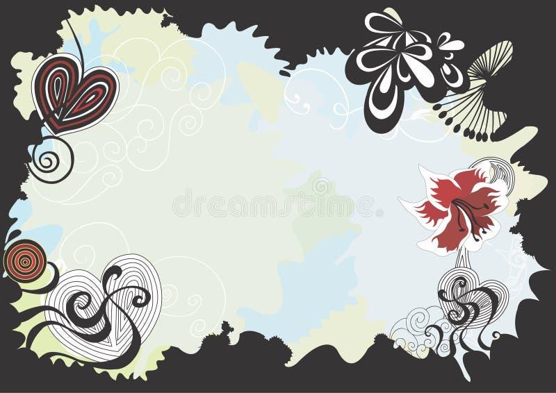Cadre décoratif illustration libre de droits