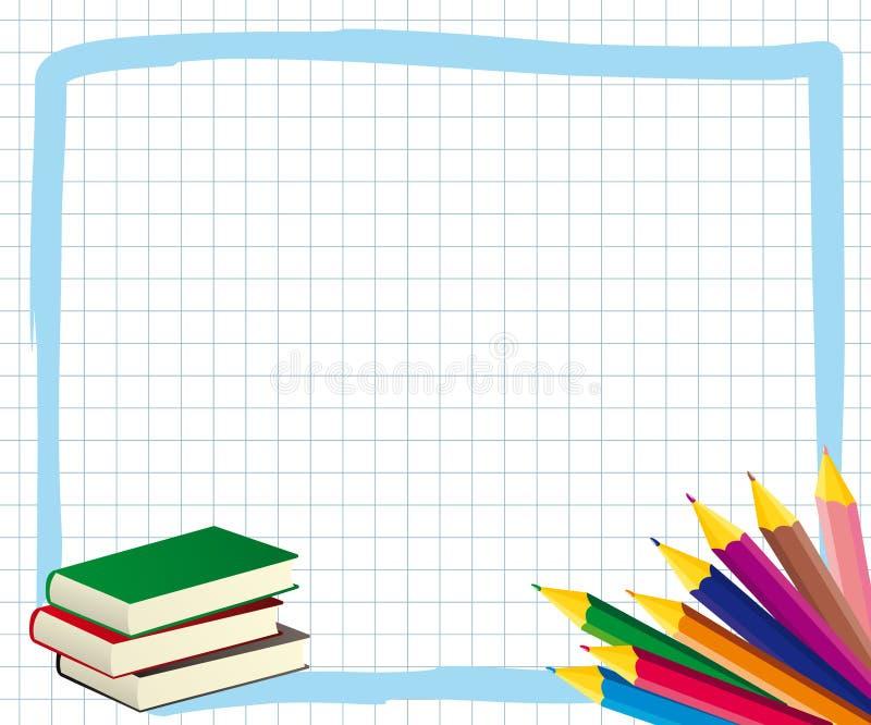 Cadre d'école illustration libre de droits