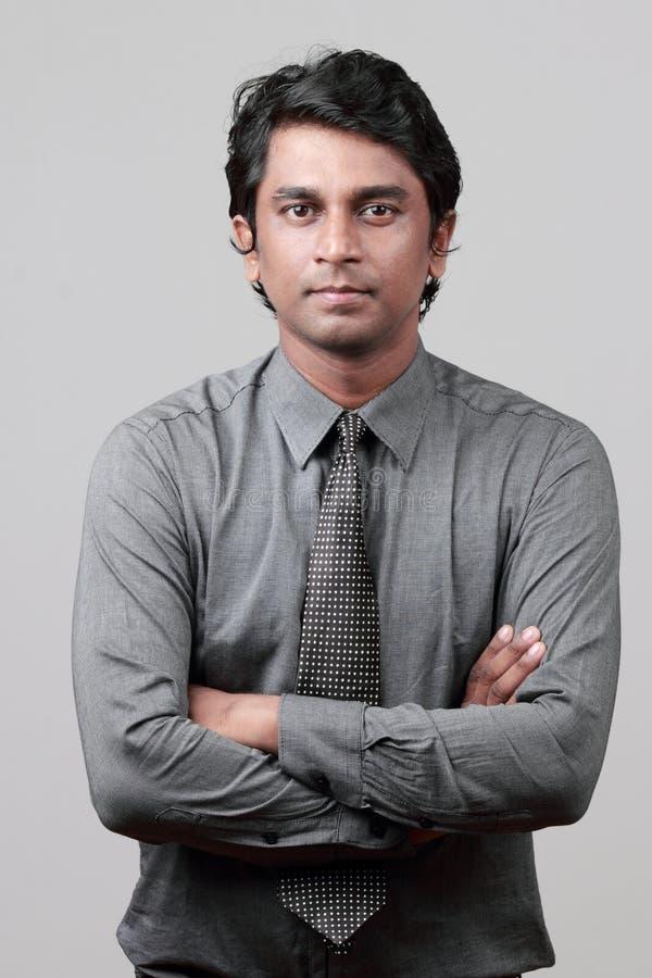 Cadre d'affaires indien images libres de droits