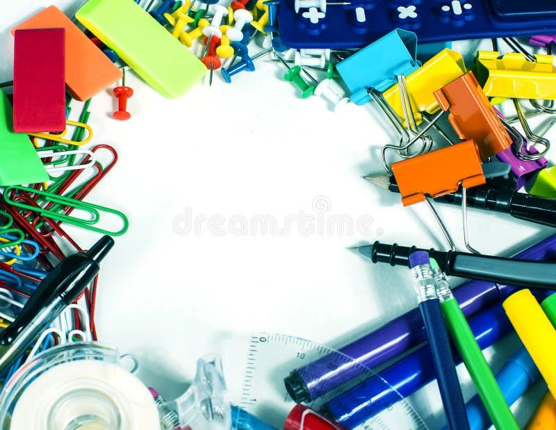 Cadre d'approvisionnements photographie stock