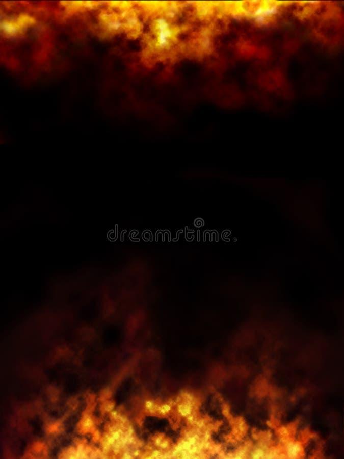 Cadre d'incendie illustration stock