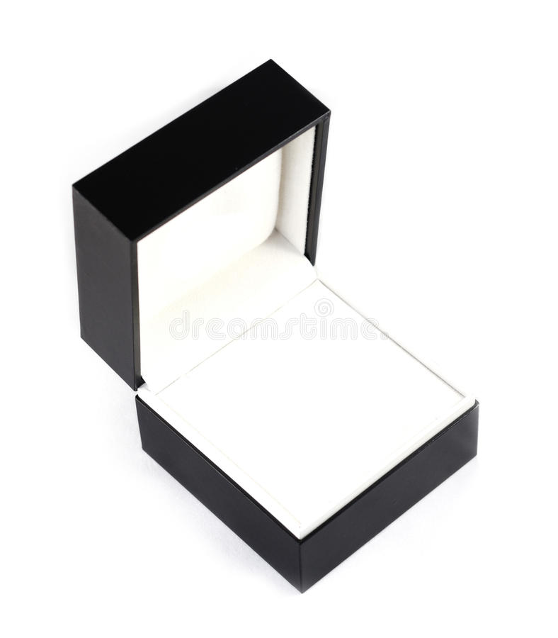 Cadre de bijou noir de velours photo stock