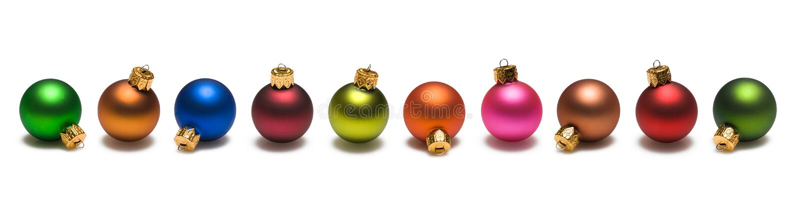Cadre de billes de Noël photo libre de droits