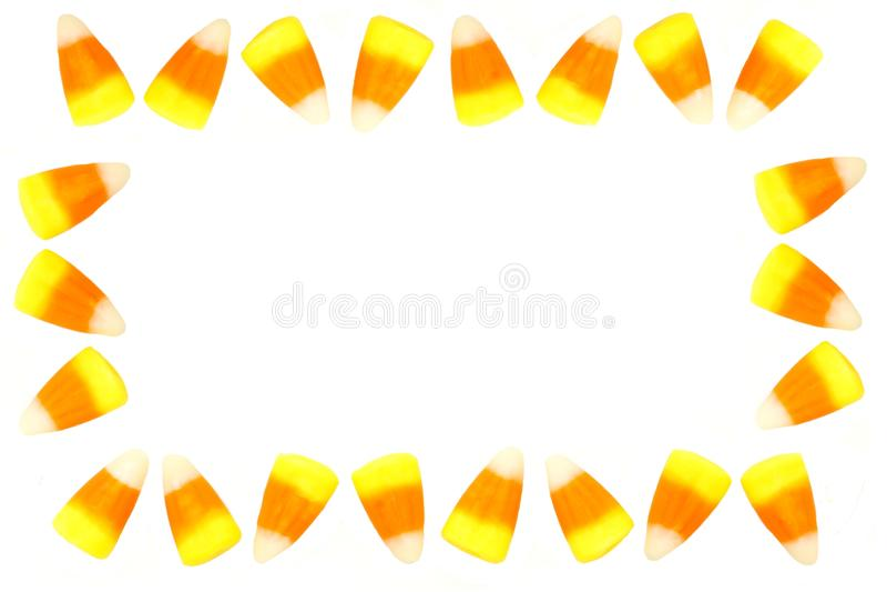 Cadre de bonbons au maïs photo libre de droits