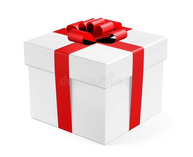 Cadre de cadeau illustration de vecteur
