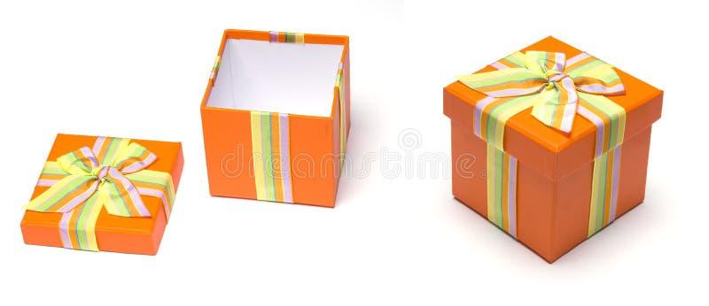 Cadre de cadeau photos stock