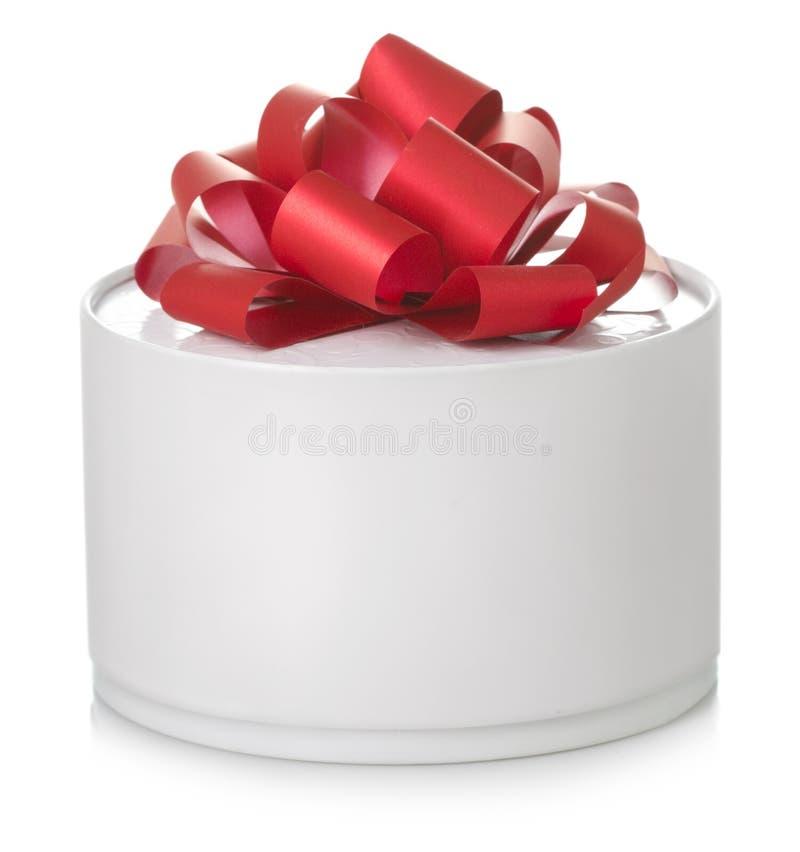 Cadre de cadeau rond image libre de droits