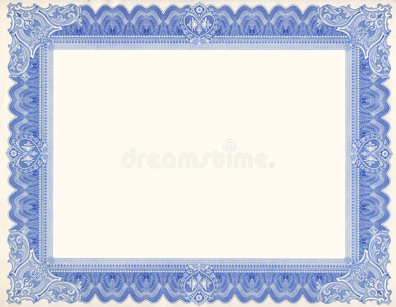 Cadre de certificat photo stock image du detail for High school diploma certificate fancy design templates