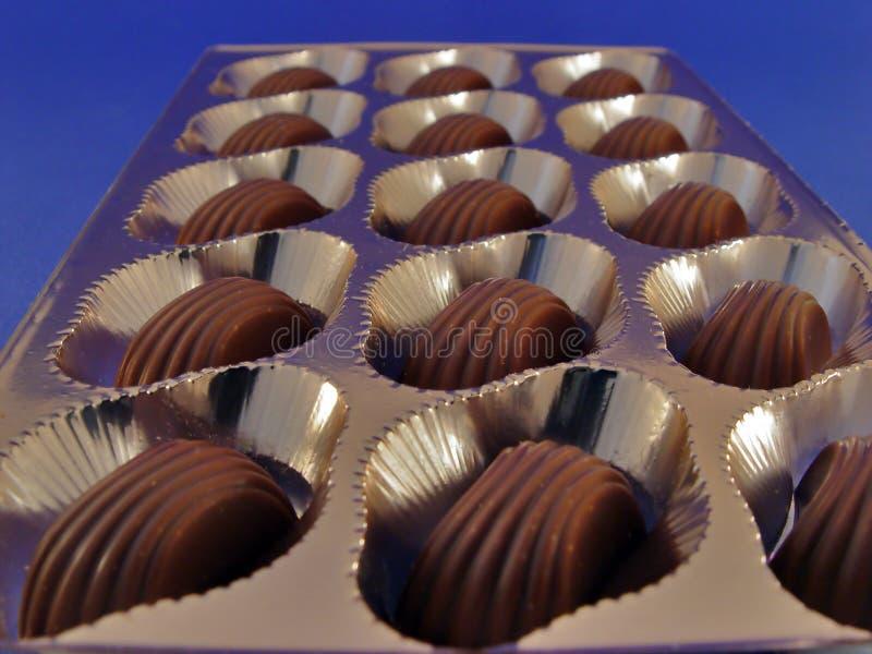 Cadre De Chocolat Photo libre de droits