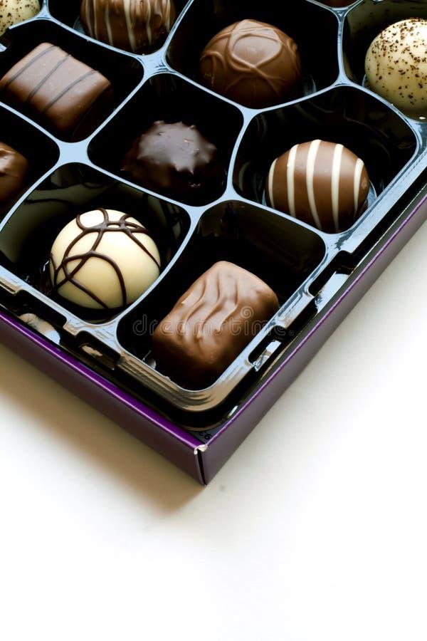 Cadre de chocolats photographie stock libre de droits