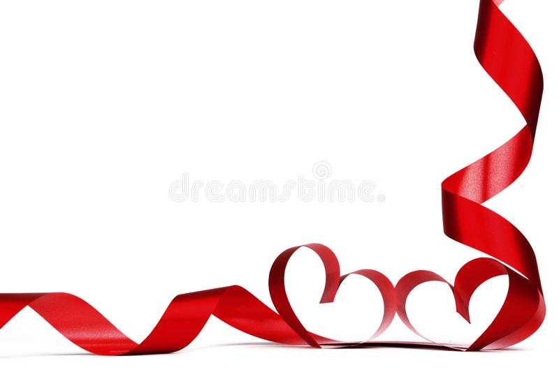 Cadre de coeur de Valentine photos stock
