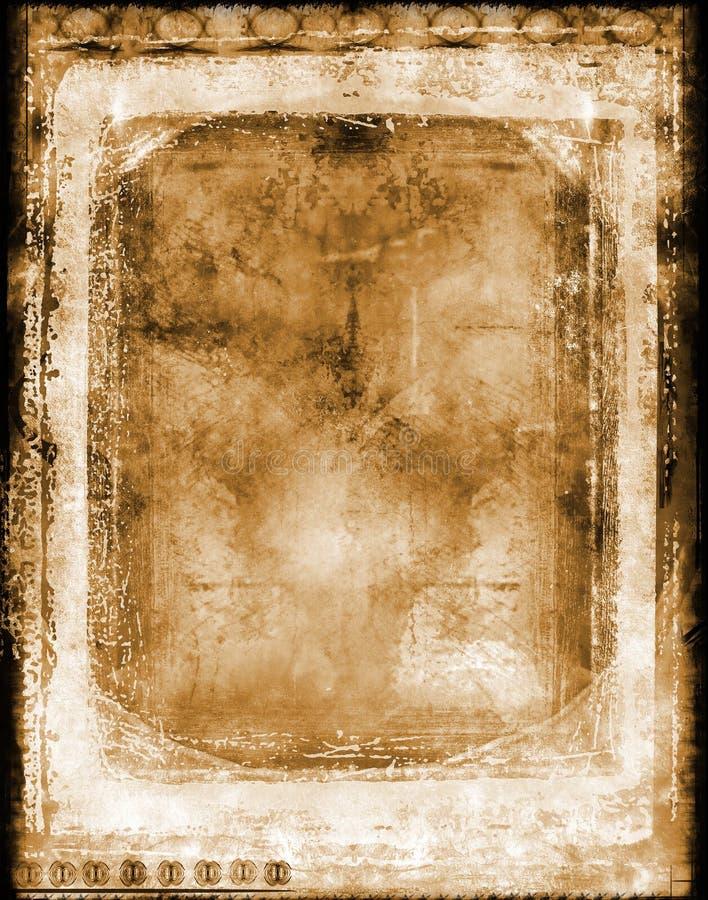 Cadre de cru photo libre de droits