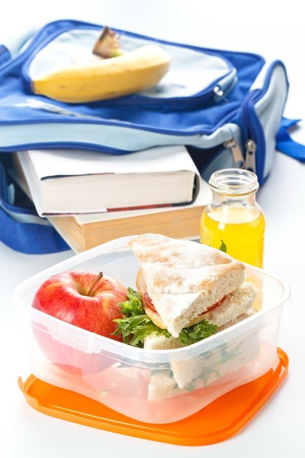 Cadre de déjeuner avec le sandwich images libres de droits
