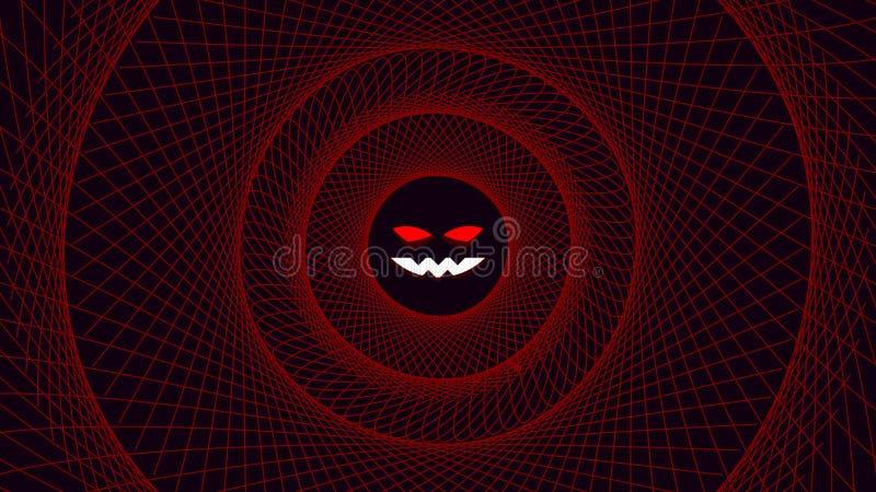 Cadre de fil d'horreur illustration libre de droits