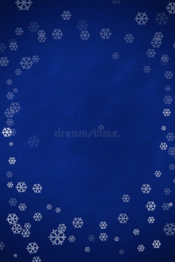 Cadre de flocon de neige photo stock