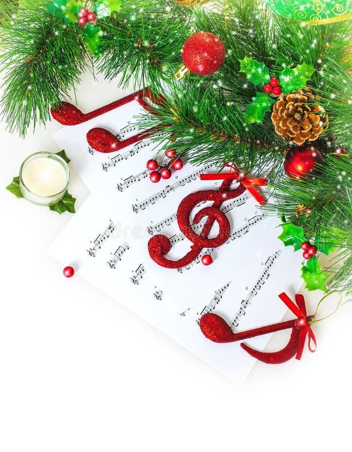 Cadre de musical de Noël images stock