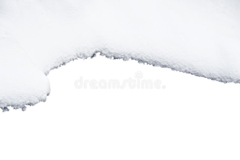 Cadre de neige images stock