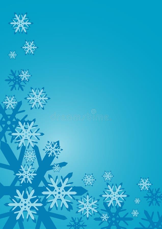 Cadre de neige illustration stock