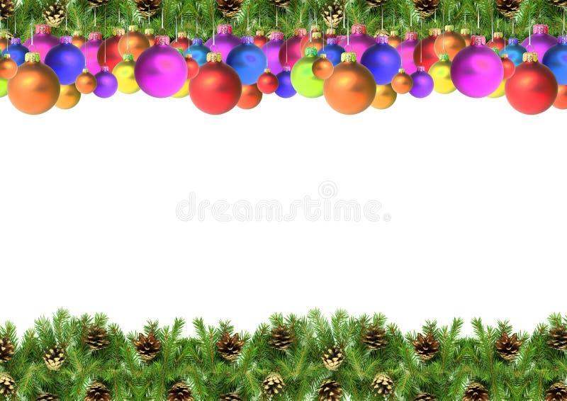 Cadre de Noël photo stock