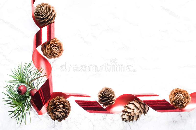 Cadre de Noël images libres de droits