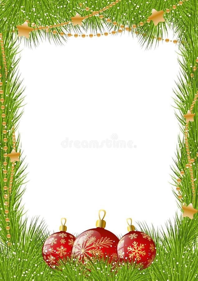 Cadre de Noël illustration libre de droits