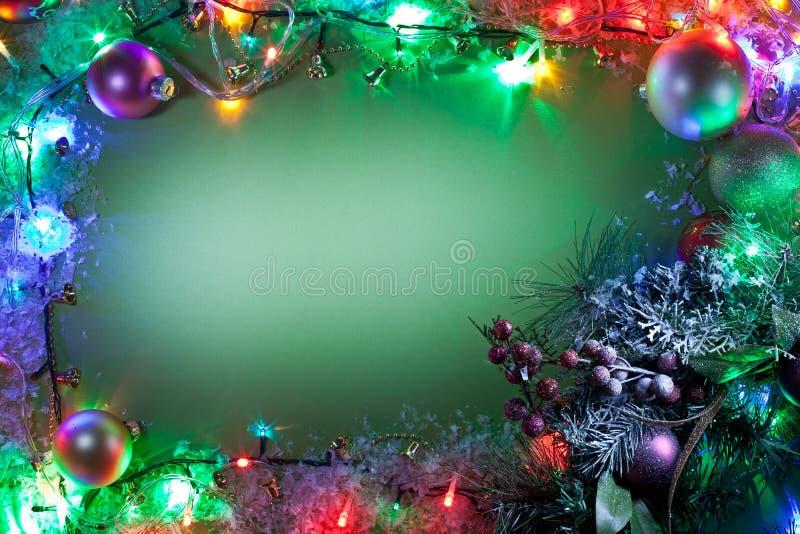 Cadre de Noël. photos stock