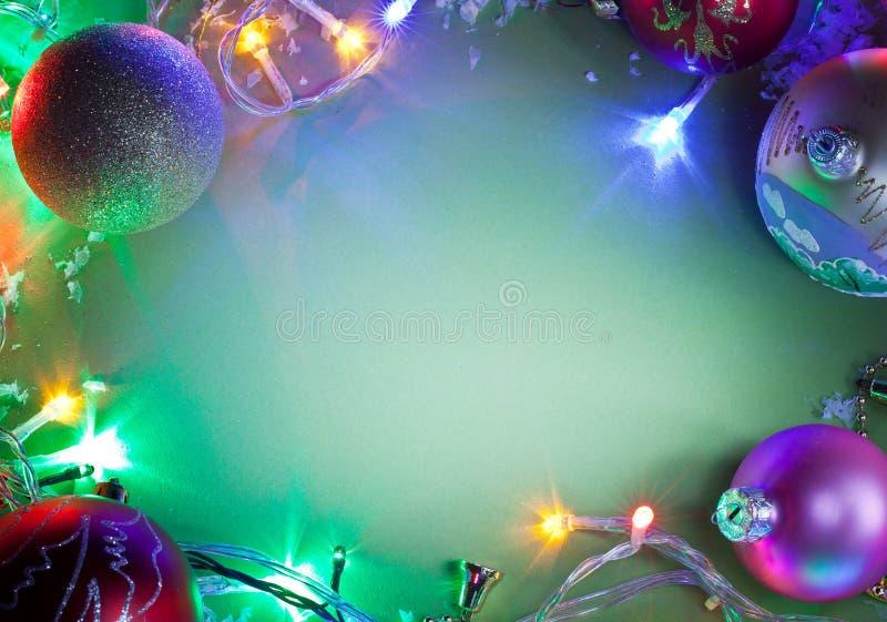 Cadre de Noël. images libres de droits