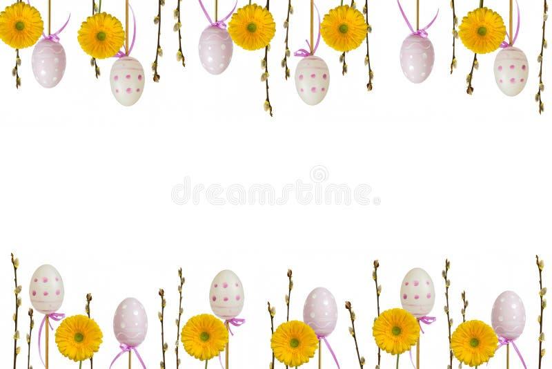 Cadre 2 de Pâques photos libres de droits