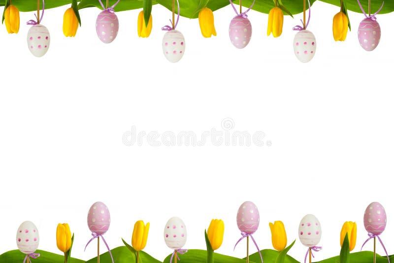 Cadre 4 de Pâques photos libres de droits
