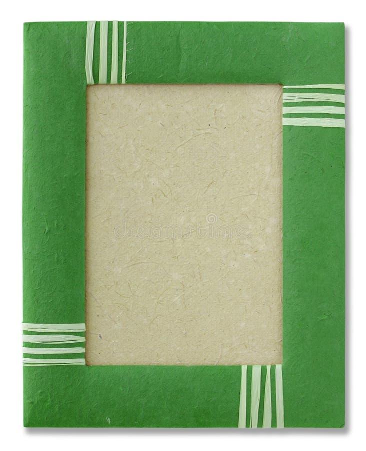 Cadre de papier de mûre photographie stock