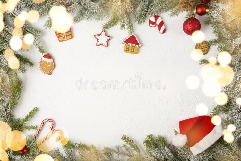 Cadre de photo de Noël photo libre de droits