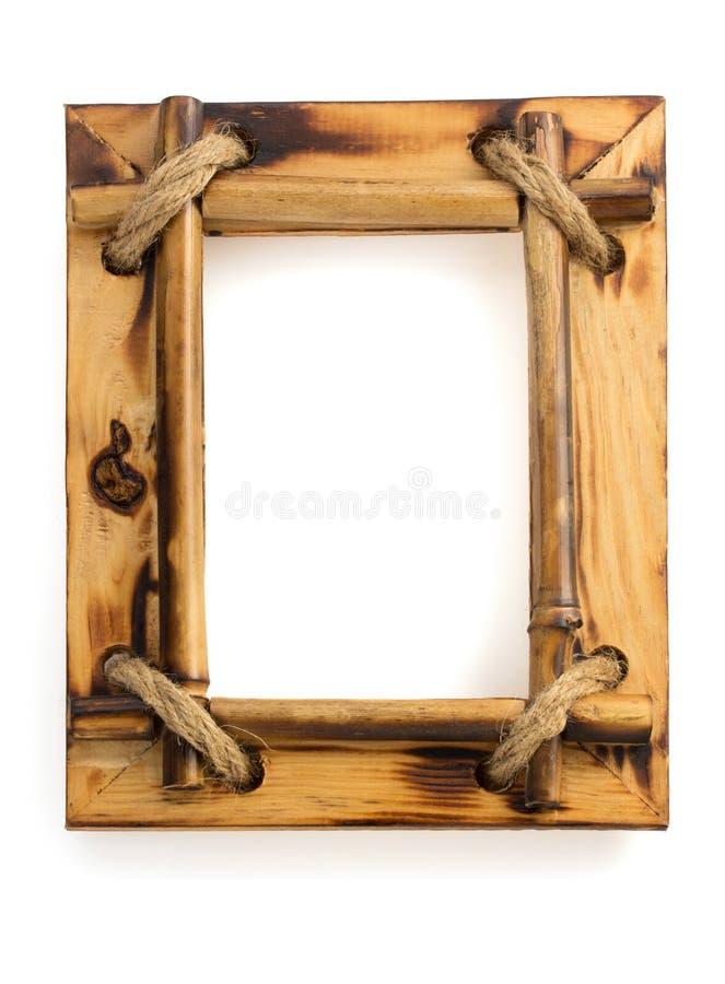 Cadre de photo sur le blanc image stock