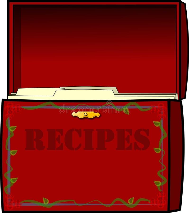 Cadre de recette illustration libre de droits
