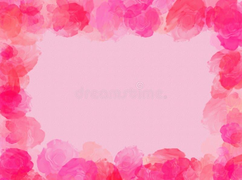 Cadre de roses photos libres de droits