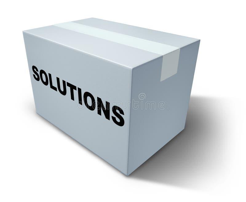 Cadre de solutions illustration de vecteur