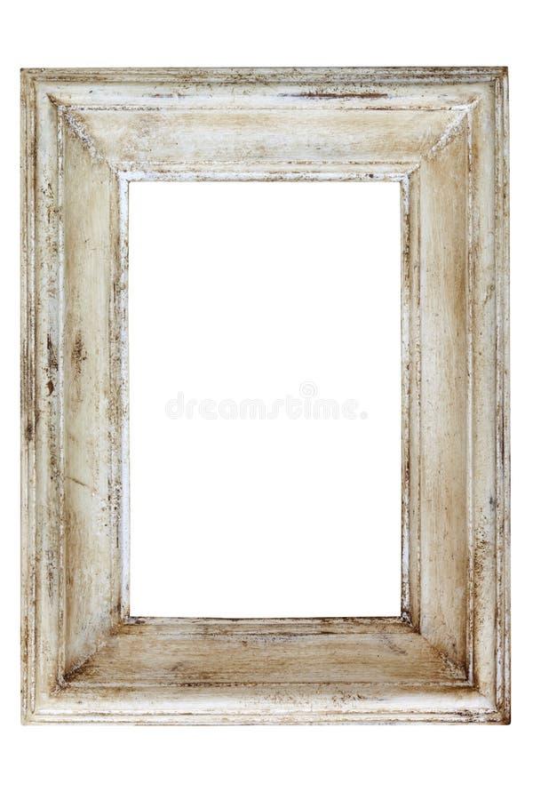 Cadre de tableau affligé photographie stock libre de droits