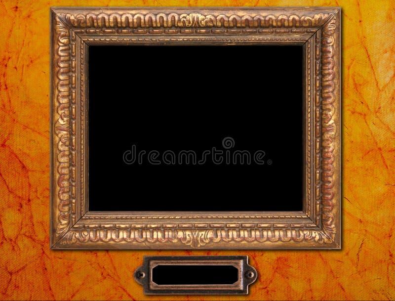 Cadre de tableau antique photographie stock