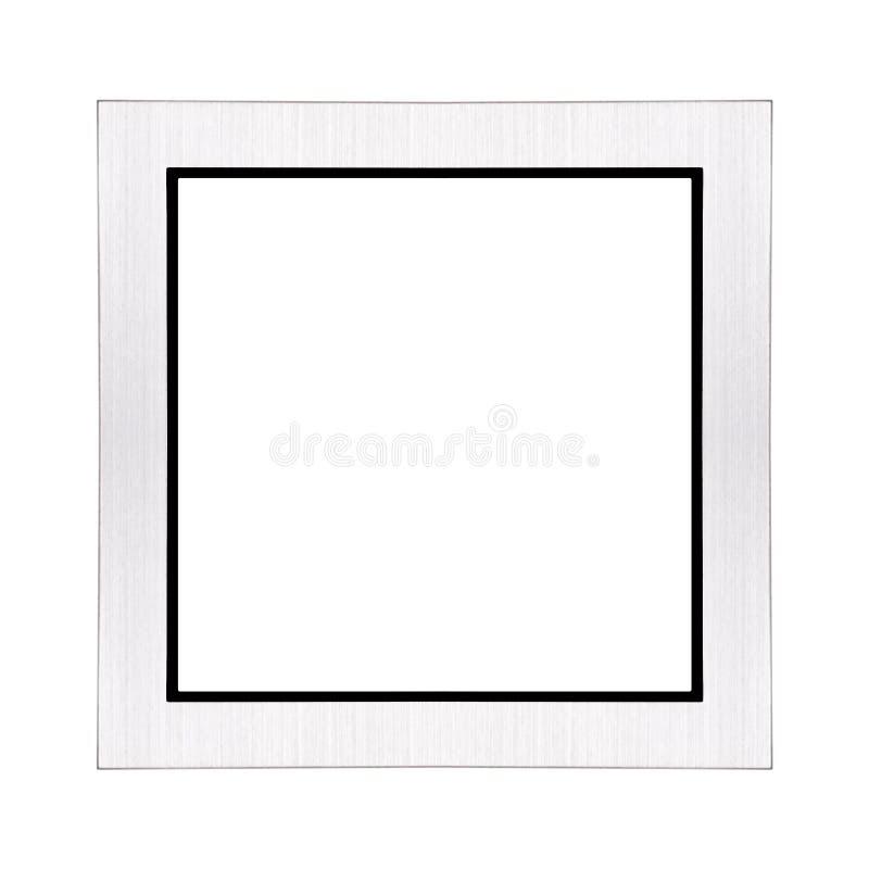 Cadre de tableau argenté photos libres de droits