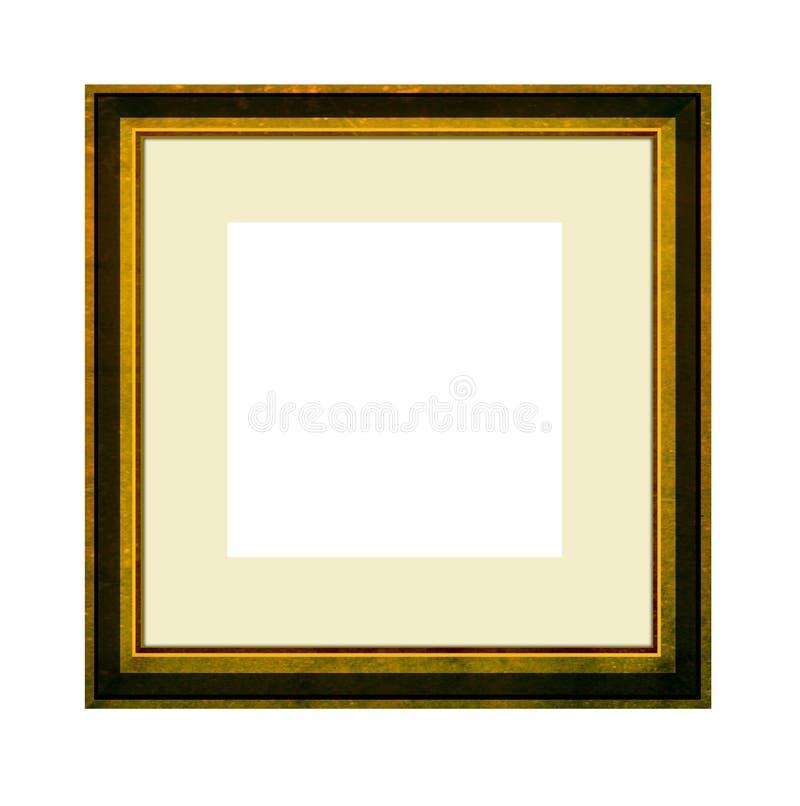 Cadre de tableau avec le support illustration de vecteur