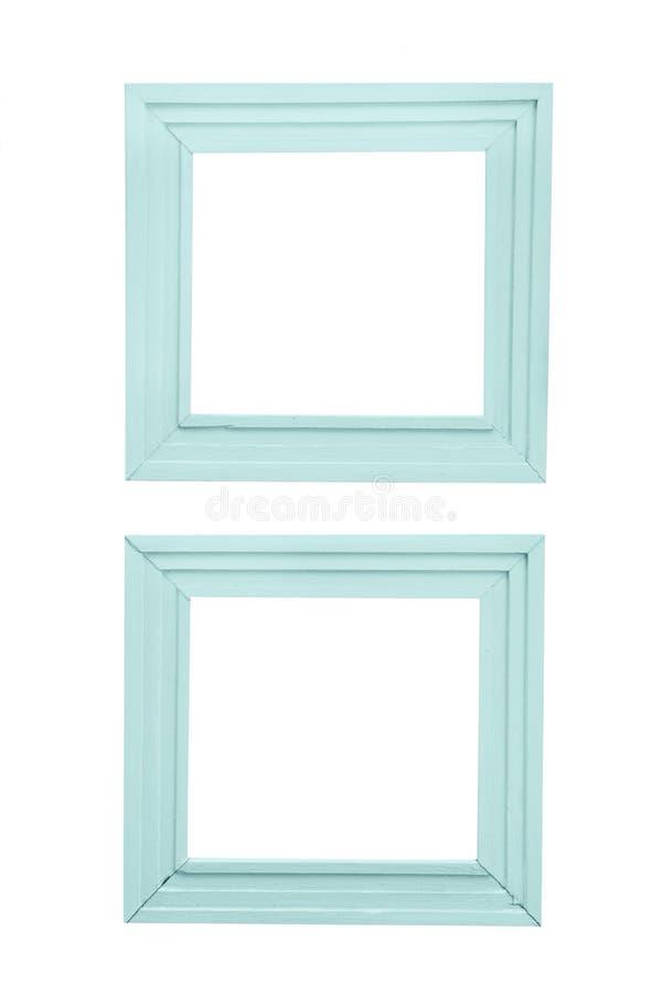Cadre de tableau classique d'isolement sur le fond blanc, chemin de coupure photos stock