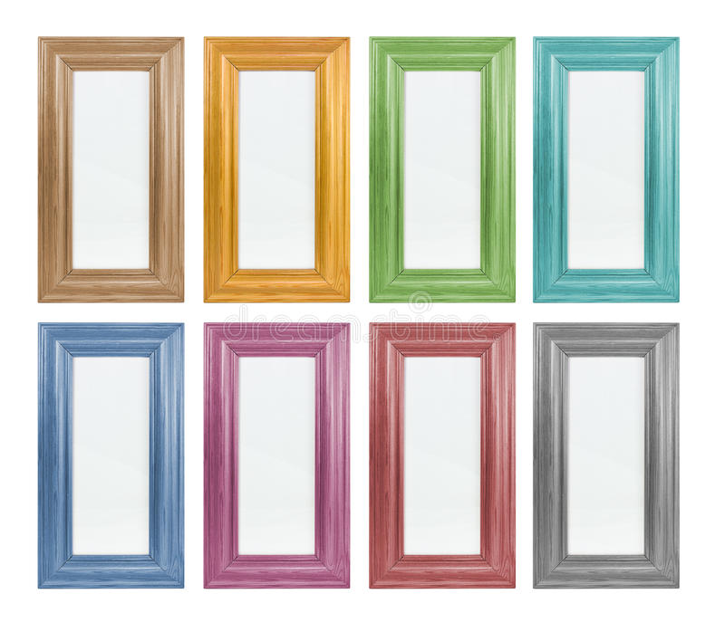 Cadre de tableau coloré images stock