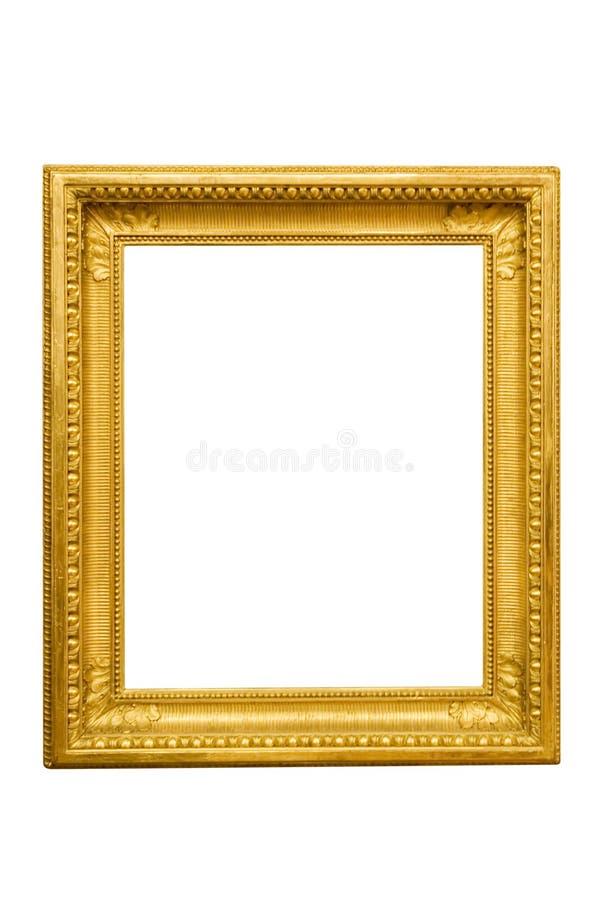 Cadre de tableau d'or photo libre de droits
