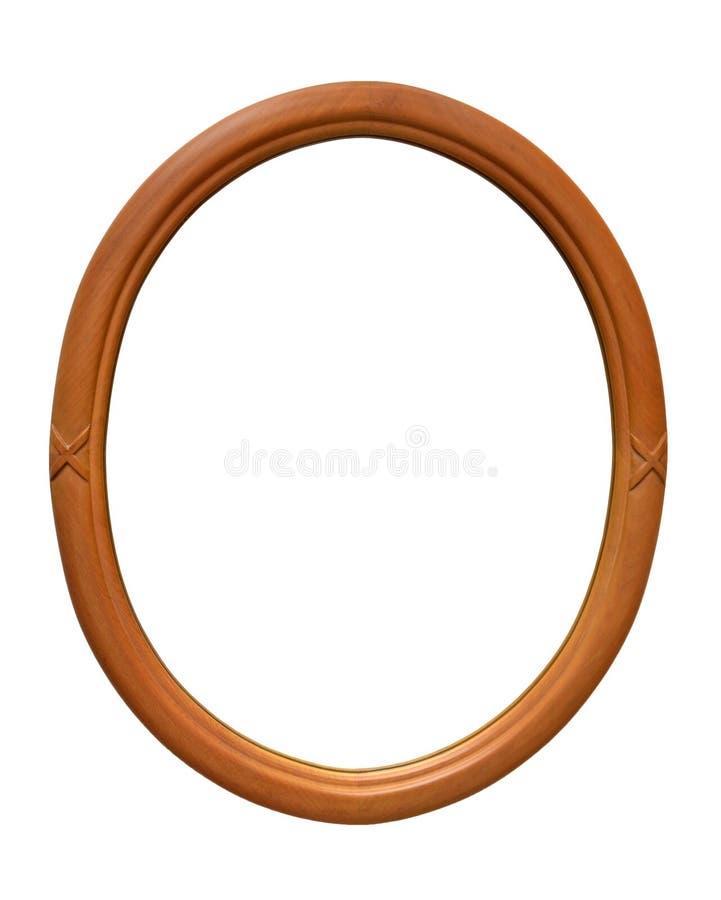 Cadre de tableau d'ellipse image libre de droits