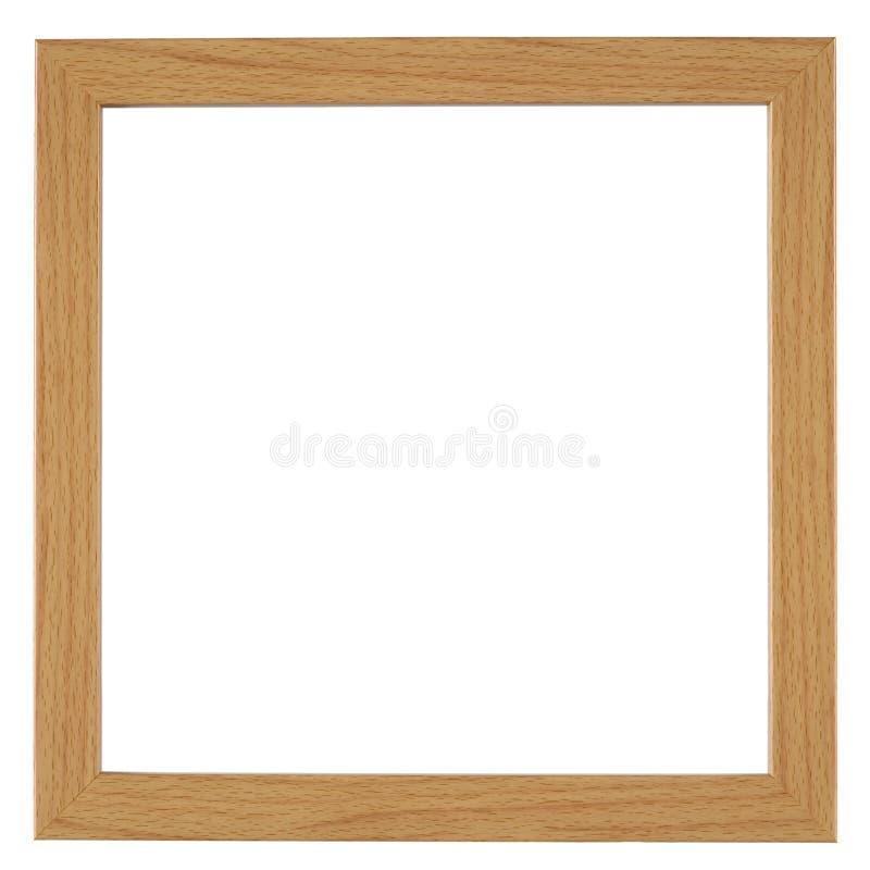 Cadre de tableau d'isolement sur le blanc photographie stock